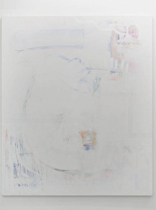 Gervaise Netherway, Untitled, 2014, acrylic on canvas, 1520mm x 1840mm
