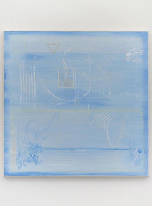 Gervaise Netherway, Untitled, 2016, acrylic on canvas, 660mm x 660 mm