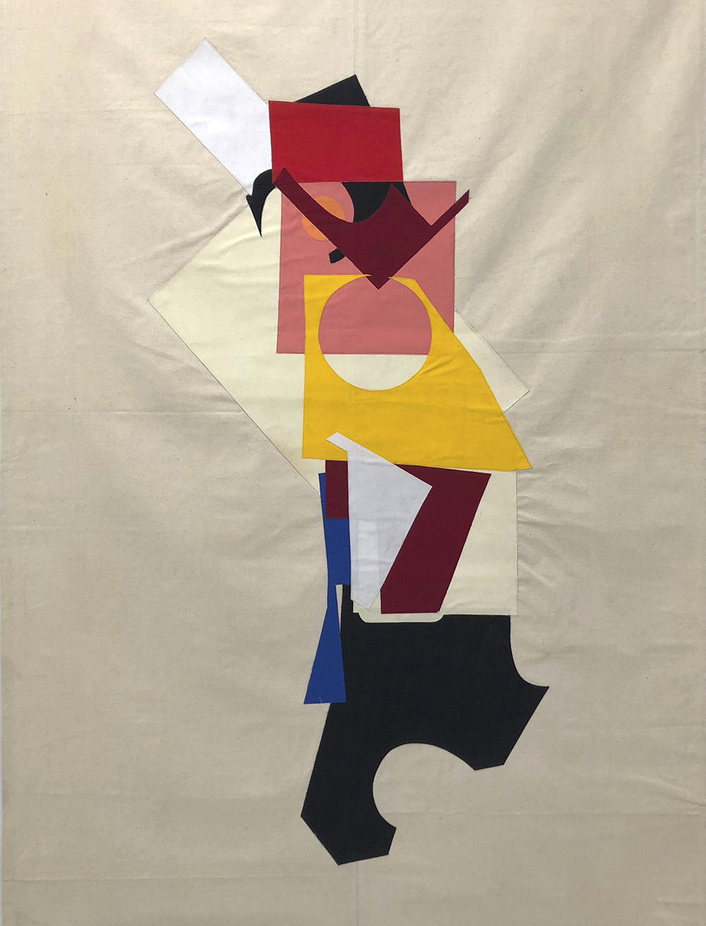 A Generous God (Six Perfections)2011Cloth Banner220 x 150 cm